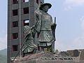 Yamaguchi chogen's statue.JPG