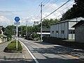 Yamanashi prefectural road 17 Nirasaki city 20110804.jpg
