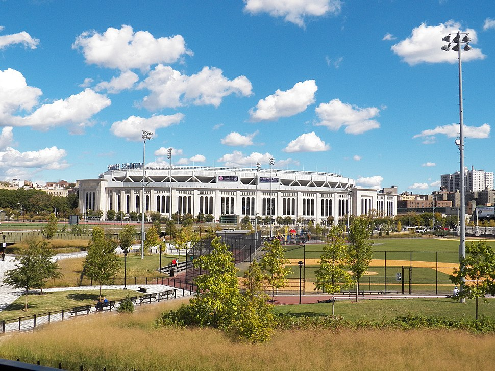Yankee Stadium and Heritage Field, September 2012