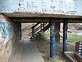 Yes the footpath goes up into the bridge - geograph.org.uk - 732745.jpg