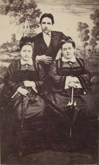 Manuel de Llanza y Pignatelli - Manuel and his sisters