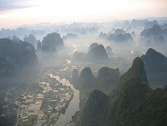 Yulong River - Image: Yulong River Valley