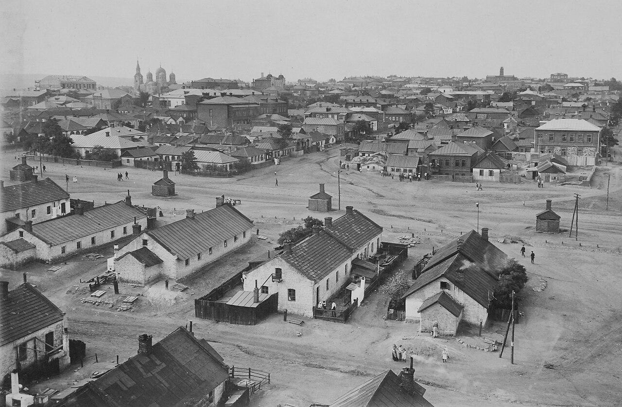Шахтёрский посёлок; фото 1912 года