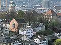 Zürich - Lindenhof - Sicht vom Grossmünster Karlsturm IMG 6405.JPG