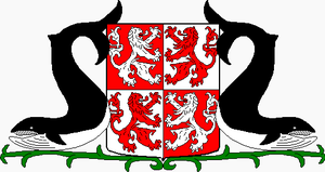 Coat of arms of Zaanstad - Coat of arms of the municipality Zaanstad, as it is sometimes depicted.