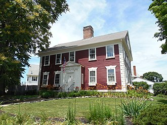 National Register of Historic Places listings in Providence, Rhode Island - Image: Zachariah Allen House, Providence RI