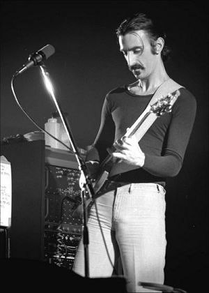Frank Zappa - Zappa performing in Ekeberghallen (Oslo, Norway) on January 16, 1977