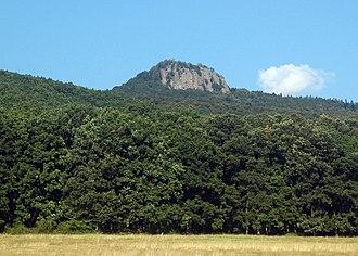 Andesite - Andesite Mount Žarnov (Vtáčnik), Slovakia