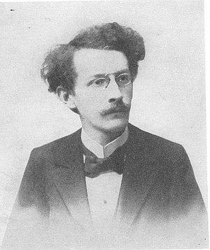 Zdeněk Nejedlý - Zdeněk Nejedlý in 1905.