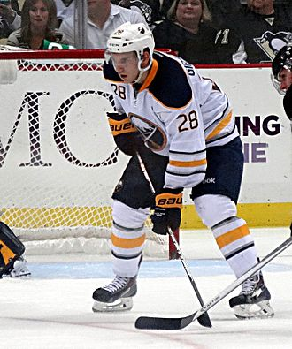 Zemgus Girgensons - With the Sabres in 2013.