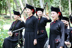 Guangxi - Zhuang people in Longzhou