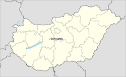 Zichyújfalu-in-Hungary-map.png