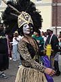 Zulu Gal Divided Face Mardi Gras 2009.jpg