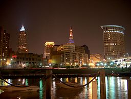 cleveland from the flats
