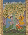 """A Youth Fallen From a Tree"", Folio from the Shah Jahan Album MET DP240815 (cropped).jpg"