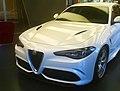 """ 15 - ITALY - Alfa Romeo Giulia QV bianca Museo Storico Alfa Romeo ad Arese 105 years of Alfa Romeo 08.jpg"