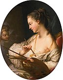 'Allegory of Painting' by Carle van Loo.jpg