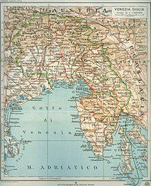 Cartina Fisica Del Friuli Venezia Giulia.Venezia Giulia Wikipedia