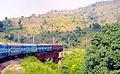 (Visakhapatnam-Kirandul) Passenger at Araku Valley.jpg