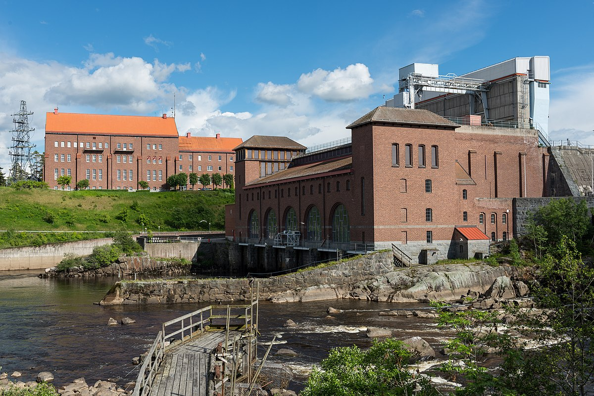 Alvkarleby Hydroelectric Power Station Wikipedia