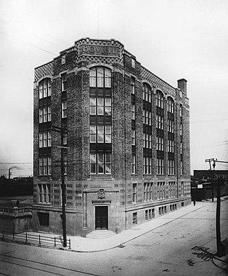 William Cornelius Van Horne - Bovril Building, corner Parc Avenue and Van Horne Avenue, Montreal 1921