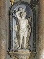 Église Notre-Dame de l'Assomption (Grenade) interieur - Retable - St Sébastien PM31001071.jpg