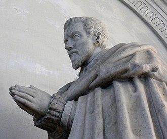 Charles de Lorraine de Vaudémont - Funerary monument in the Franciscan church in Nancy, France.