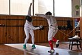 Épée fencers from Athens and Greece meet at Athenaikos Fencing Club to practice.jpg