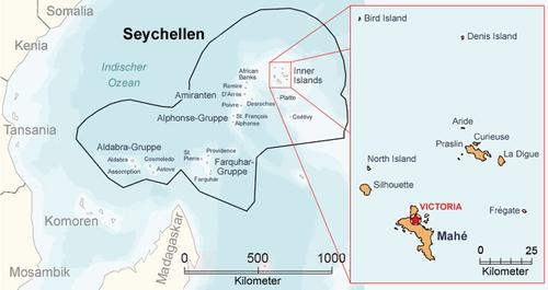 Karte Seychellen.Liste Der Seychellen Inseln Wikipedia