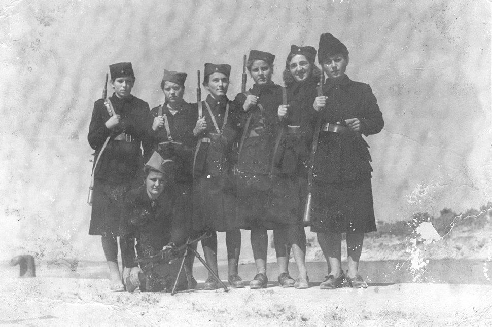 Žene četnici vojvode Đujića