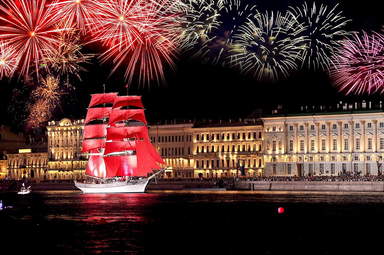 «Алые паруса» признаны лучшим городским событием Европы