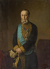 Portrait of Count Piotr Valuyev