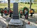 Братская могила советских воинов, погибших в борьбе с фашистами. Старая Слобода, Ленинградская область.jpg