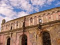 Жовква, синагога. Вид з півдня (у кольорі).jpg