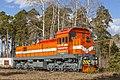 ТЭМ2УГМК-5915, Russia, Kurgan region, JSC «Shadrinsk plant of automobile units» (Trainpix 155828).jpg