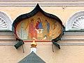 Церковь Троицы в Кожевниках. Москва. Фреска на восточном фасаде.jpg