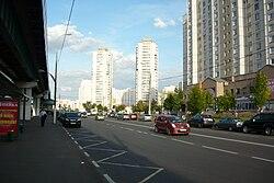 Skyline of Yuzhnoye Butovo縣