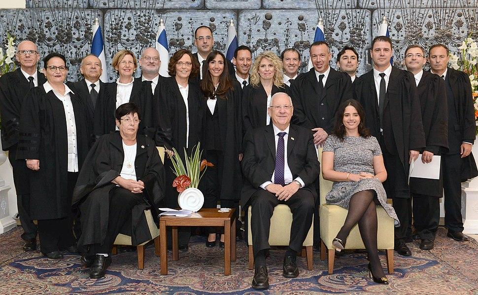 טקס השבעת שופטי בית משפט שלום ומחוזי בישראל