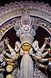 বাগবাজার সার্বজনীন দুর্গোৎসব ২০১৮ (মুখ্য দূর্গা প্রতিমার নিকট চিত্র).jpg