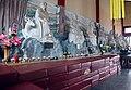 海南国际旅游岛——海南永庆寺十八罗汉中右排的九个罗汉景观(室内)(南向) - panoramio.jpg