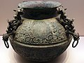-0770 - 0403 Bronze Lei (wine vessel) with Tiger-shaped Knob Spring and Autumn Period National Museum of China anagoria.jpg