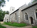 -2018-09-17 South facing elevation, Parish church of All Saints Church, Church Street, Gimingham.JPG