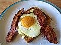 -2019-07-30 Streaky bacon, fried egg on toast, Cromer (1).JPG