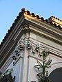 009 Església de Sant Antoni Abat, detall del porxo (Sant Antoni de Vilamajor).jpg