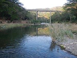 Angat River - Image: 01439jf Hilltop San Mateo Sitio Bitbit Lorenzo River Bridge Norzagaray Bulacan villagesfvf 01