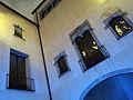 038 Pati del palau Centelles, Baixada de Sant Miquel, durant el festival Llum BCN.JPG