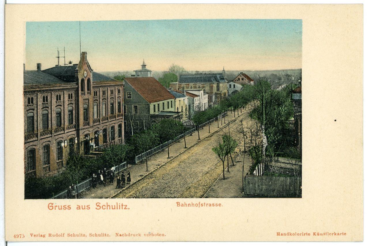 04975-Schulitz-1903-Bahnhofstraße-Brück & Sohn Kunstverlag.jpg