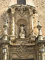 09 Església de l'Assumpció, fornícula de la Mare de Déu.jpg