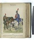 1) Reitendes Jäger-Regiment Olivencia; (2) Husaren-Regiment Maria Luisa. (1806) (NYPL b14896507-87910).tiff