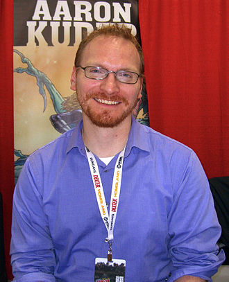 Aaron Kuder - Kuder at the 2012 New York Comic Con
